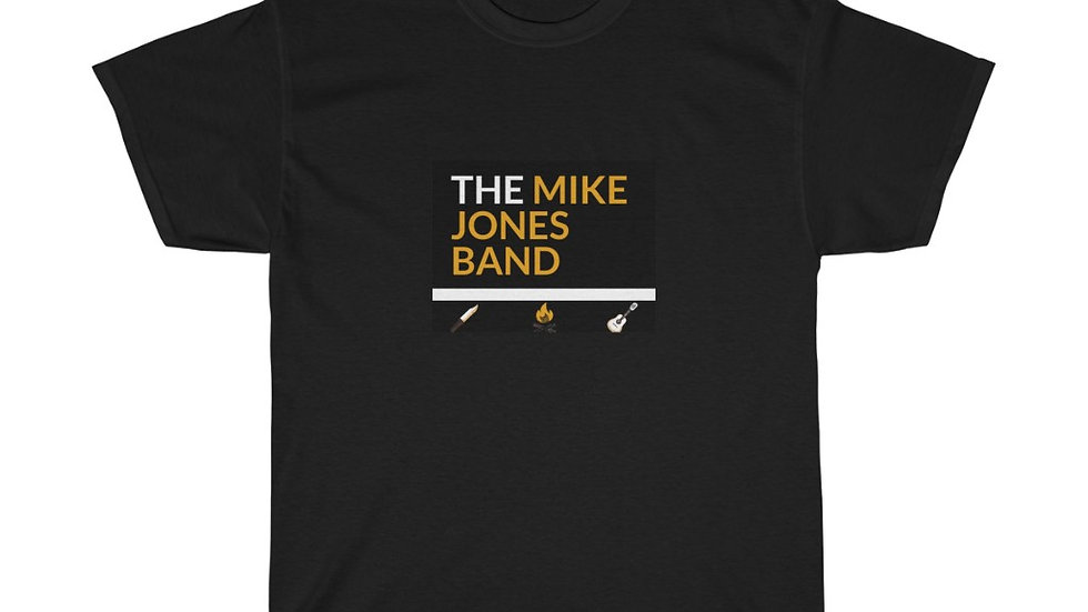 Mike Jones Band Unisex Heavy Cotton Tee