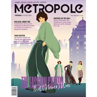 Metropole Magazine Cover