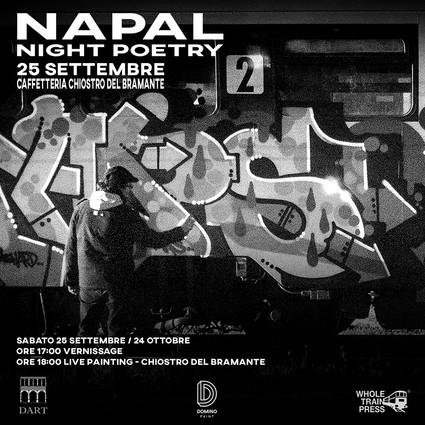 Napal - Chiostro del Bramante Roma 25/09/21