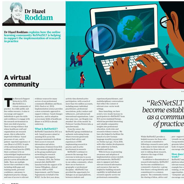 Virtual Community - The Bulletin Magazine