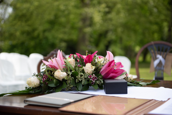 Trauung Hochzeitstisch