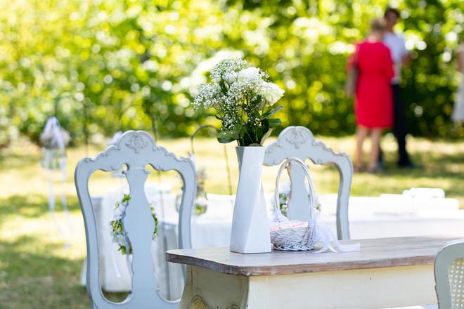 Braut und Bräutigam Stuhl