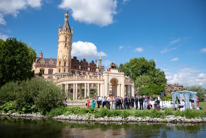 Schweriner Schloss Hochzeitstag