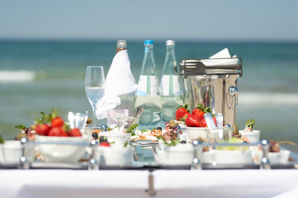 Catering am Strand Warnemünde