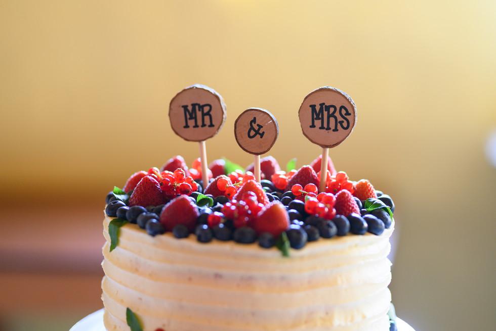 Naked Torte Hochzeitstorte