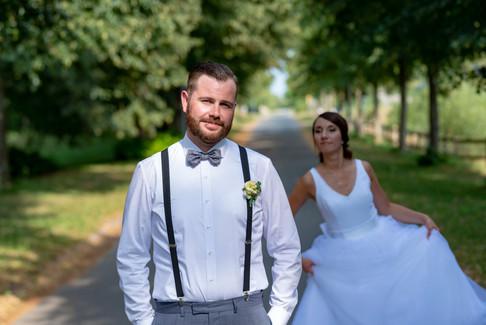 Bräutigam Fotoshooting