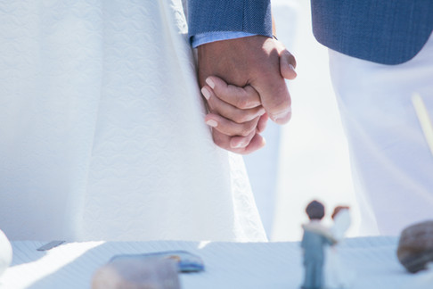 Fotoreportage Hochzeitsfoto während der Trauung
