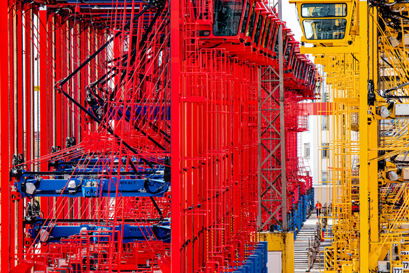 Umschlag Bremerhafen Fotograf Holger Martens