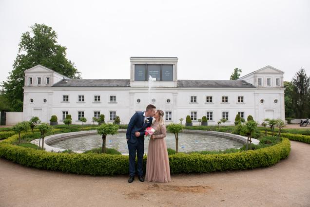 Fotoshooting Hochzeitspaar
