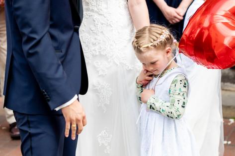 Kind Hochzeitstag Party