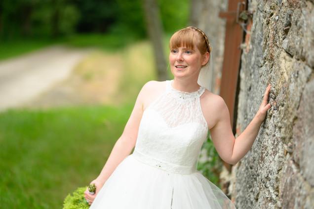 Braut Fotoshooting Hochzeitstag