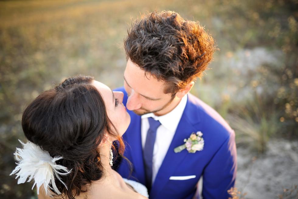 Hochzeitsshooting Brautpaar Warnemünde
