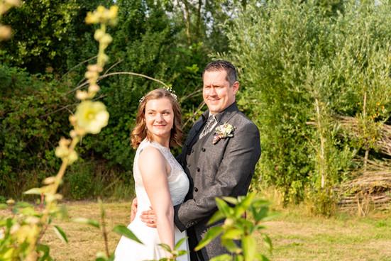 Brautpaar Hochzeitsfoto