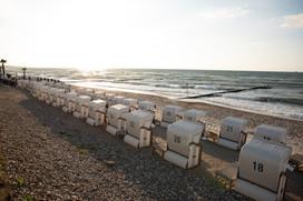 der Strand in Heiligendamm