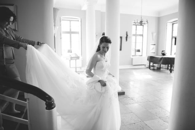 Braut zum Altar