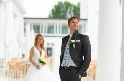 jeder Ort ein Hochzeitsfoto Motiv, das finden sie im Grand Hotel Heiligendamm