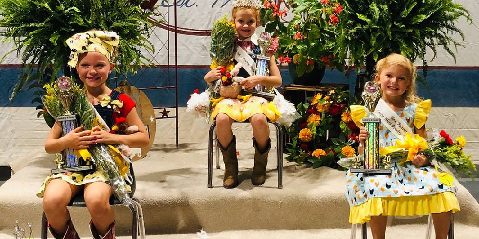 2021 Little Miss Poultry Days