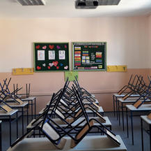 In a classroom