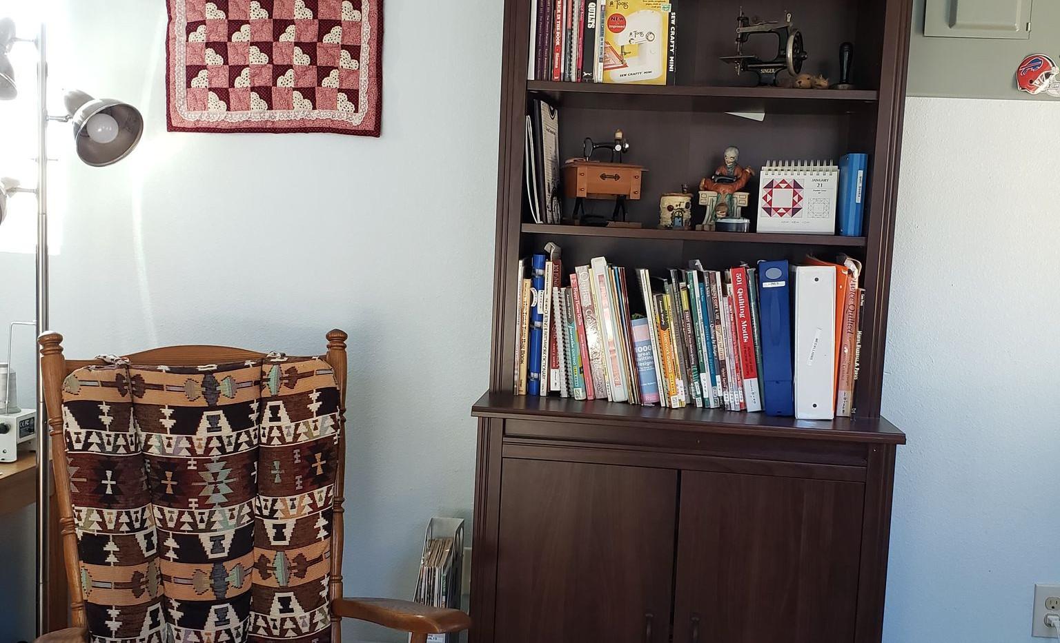Inside Sewing Cabin