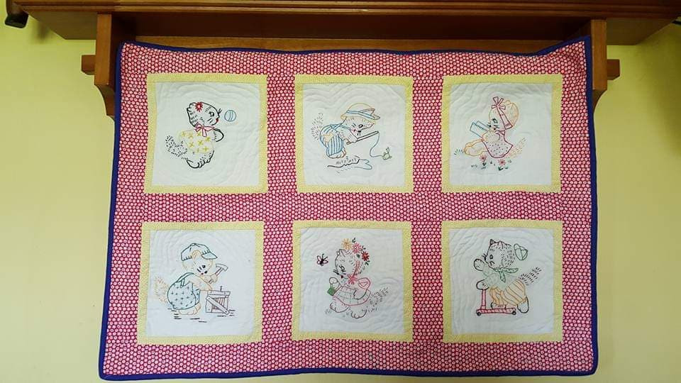 Baby Blanket Wall Hanging