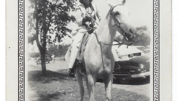 Ready for Cotulla's 4th of July Parade in 1947