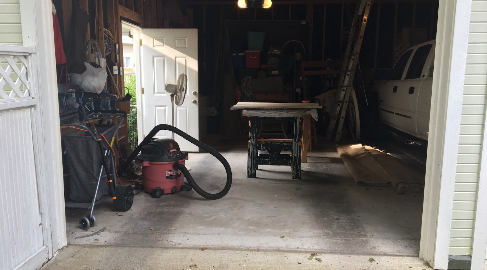 Garage workshop
