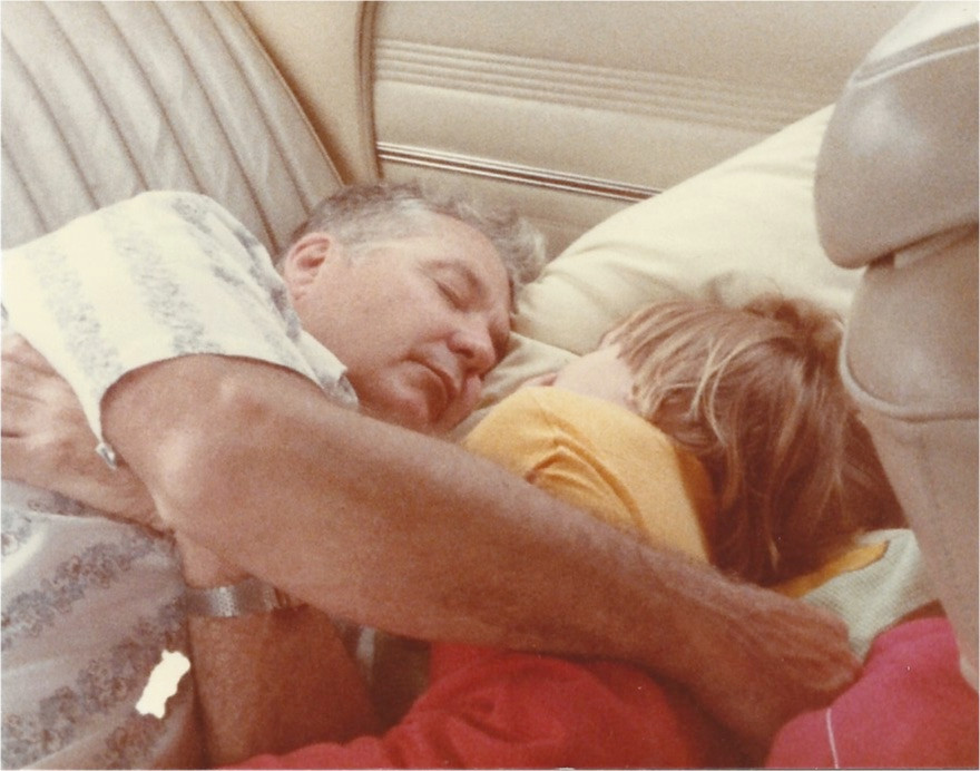 PawPaw & Vanessa after a long day fishing