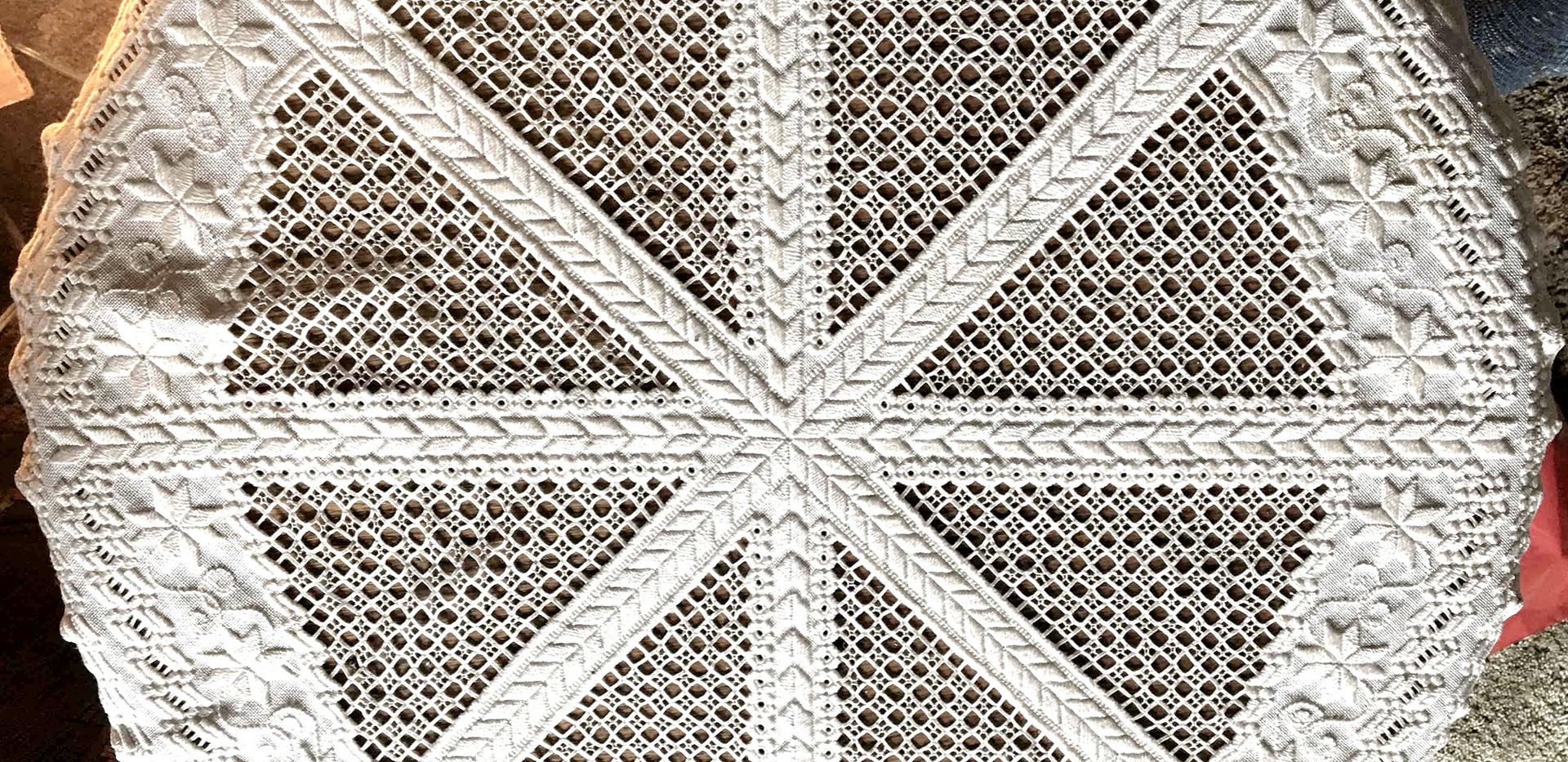 Hardanger Embroidery by Jo Kush