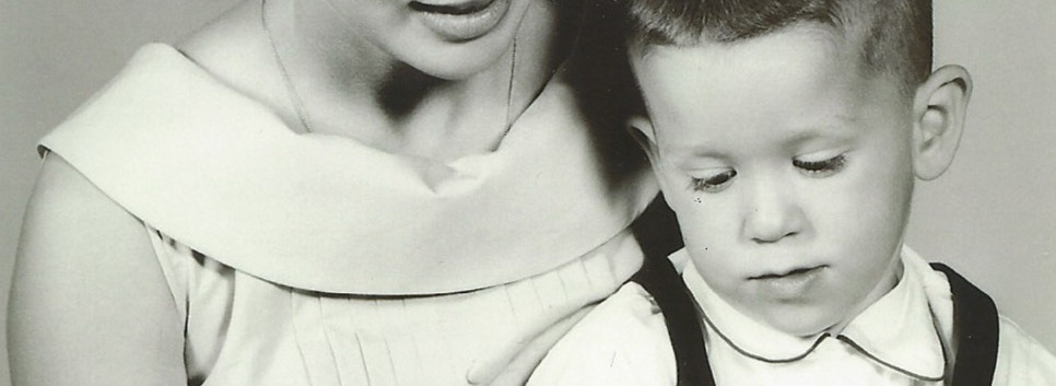 Dorothy & her youngest son Karl