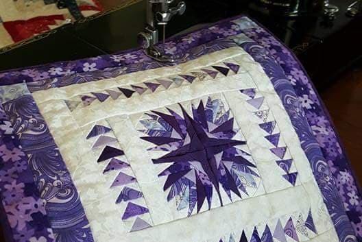 Mini Paper Pieced Quilt