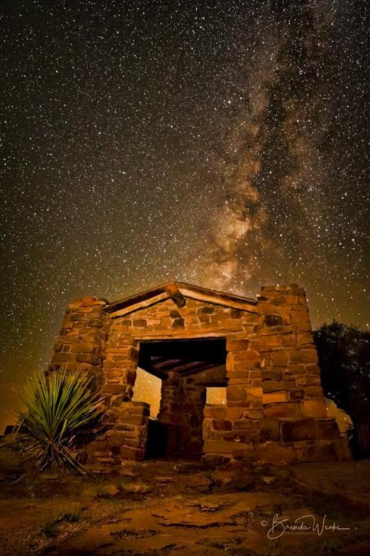 Milky Way in West Texas