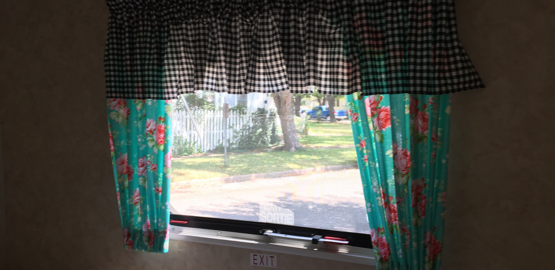 The master bed window