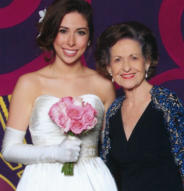 Dorothy with granddaughter Georgia