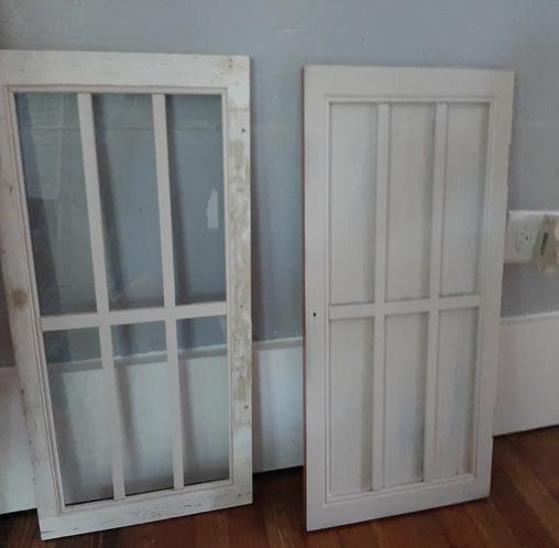 The doors in progress