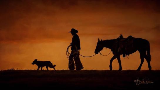 A Cowboy's Friends