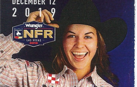 Dorothy's keepsake from the 2019 NFR