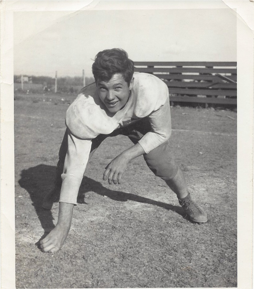Jimmy's high school football picture