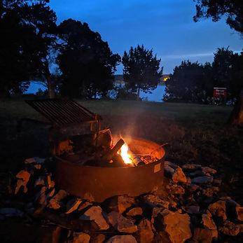Yvonne's pic - campfire - Cedar Breaks.j