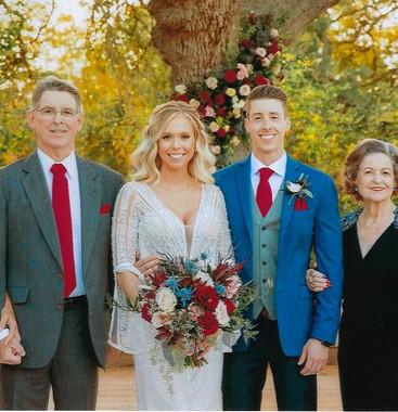 Dorothy with Dan III & Leslie's family