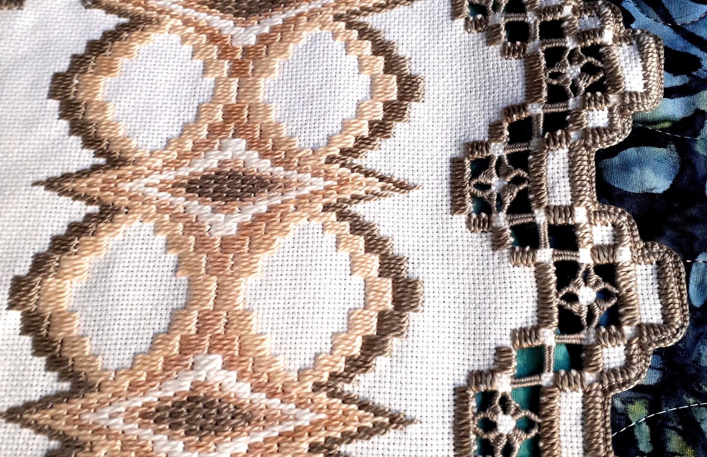 Hardanger Embroidery by Marijke Oude-Reimerink