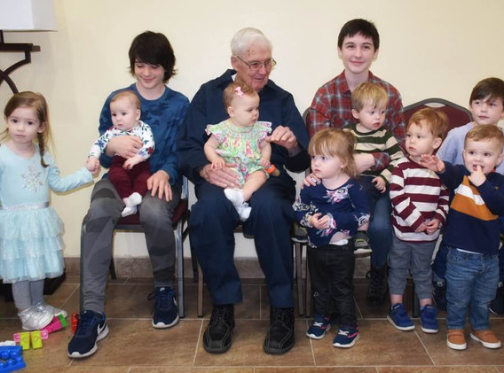 PawPaw with his great grands
