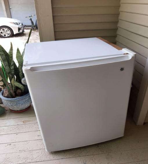 Before mini-refrigerator