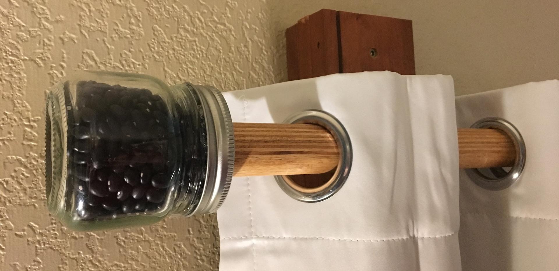Black bean finial