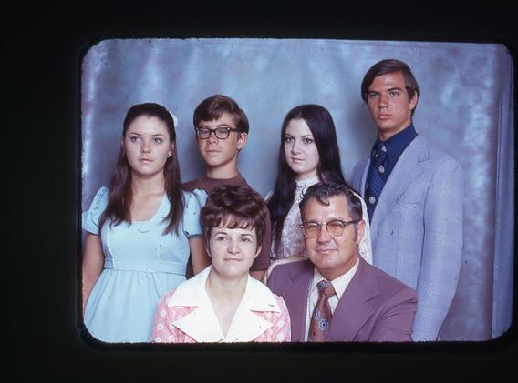 The Casey family around 1974