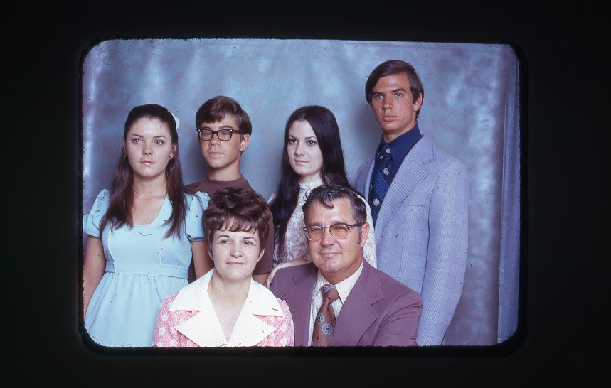 The Casey family around 1974