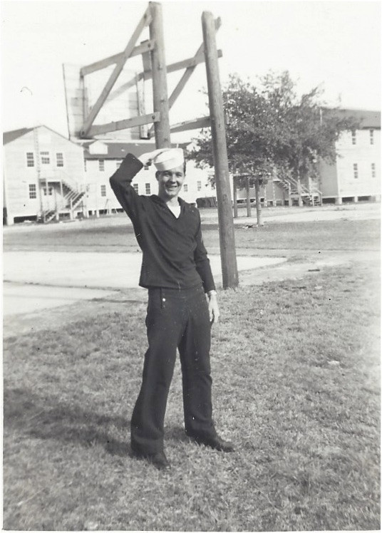 Jimmy joined the Navy in November 1950 & reported for duty in January 1951