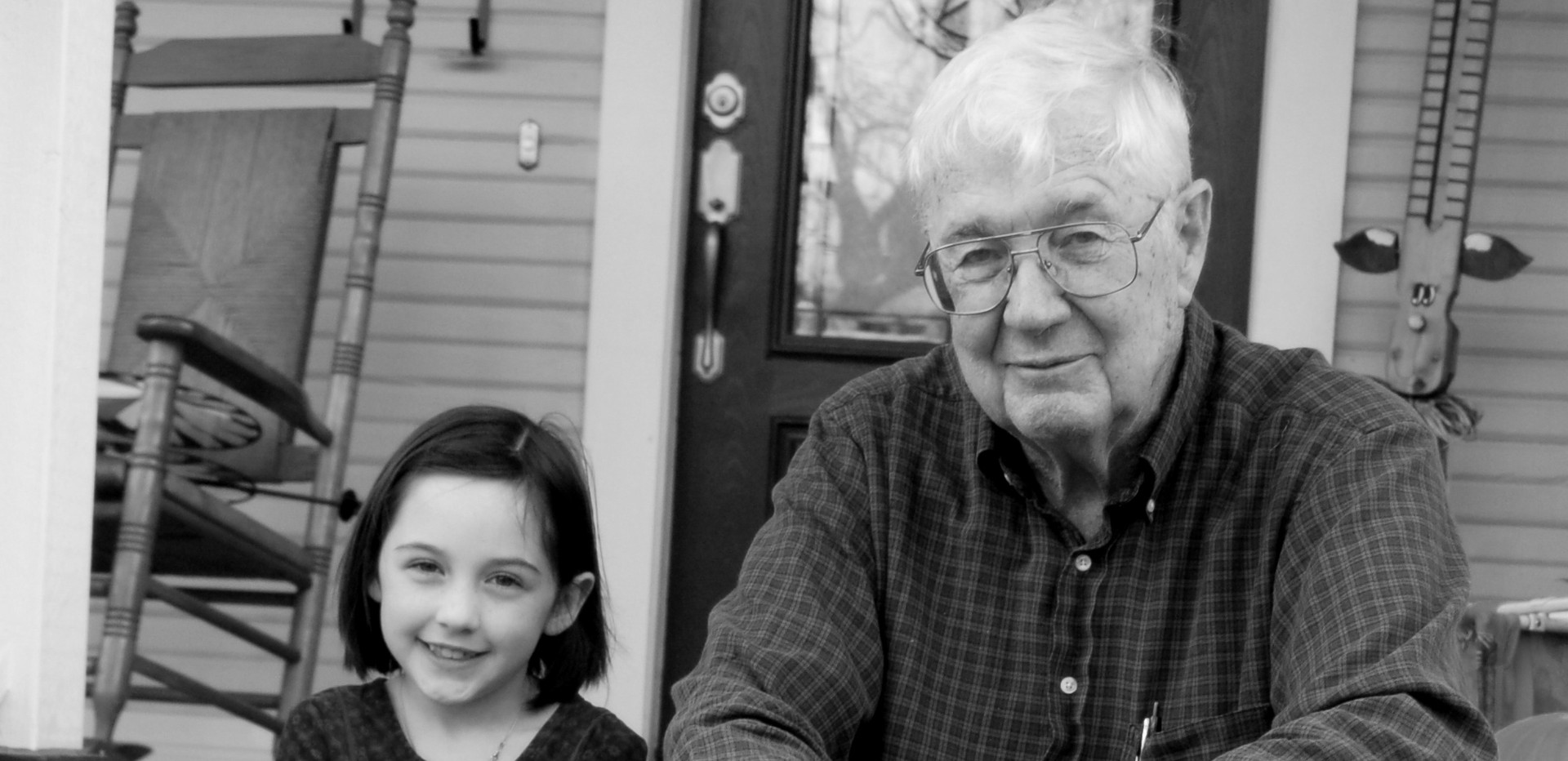 PawPaw & the oldest great grand Audrie