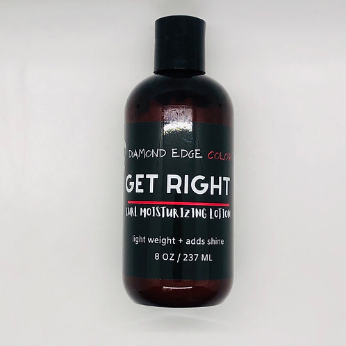 Get Right curl lotion