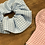 Thumbnail: Handmade Mask & Scrunchie in Pale Pink and Blue Gingham