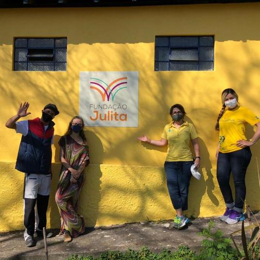 Entrega Fundação Julita